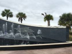 Kennedy Memorial Fountain - Kennedy Space Center Visitor Center