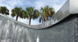 Kennedy Space Center Visitor's Complex Kennedy Memorial Fountain