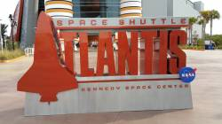 Kennedy Space Center Visitor's Complex Atlantis Space Shuttle Exhibit